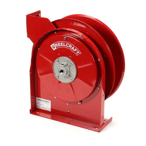 Reelcraft 4425-OLP 1/4 x 25ft, 300 psi, Air / Water Reel Reel with Hose