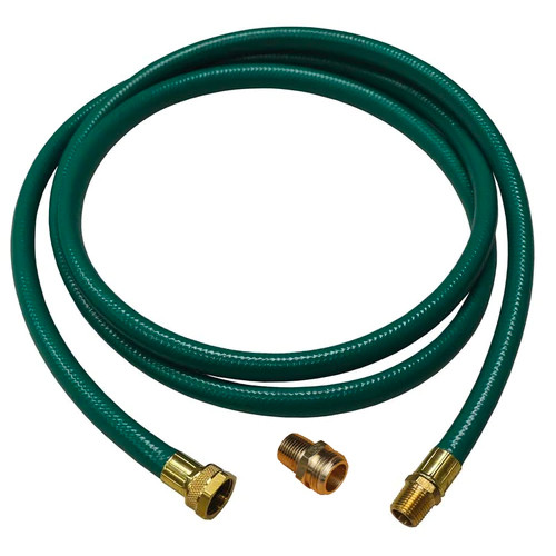 """Reelcraft 600962 - 1/2"""" x 10 ft. Inlet Hose w/ Adapter Fitting"""