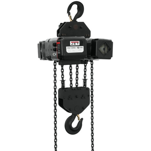 Jet 183015 VOLT 10T VARIABLE-SPEED ELECTRIC HOIST  3PH 230V 15' LIFT