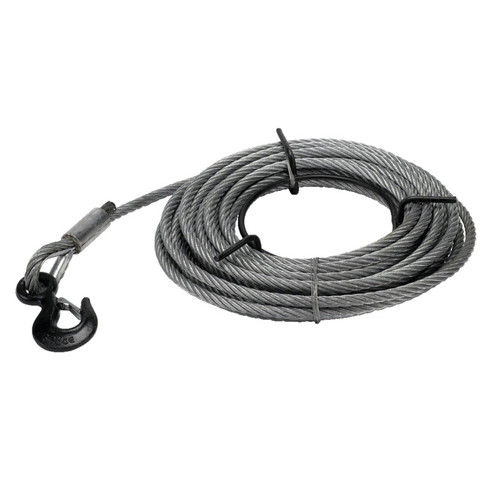 """JET 286514 1-1/2-Ton 7/16"""" Wire Rope 66 Feet"""