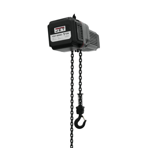 JET 180116 Volt 1T Variable-Speed Electric Hoist 3Ph 460V 15' Lift