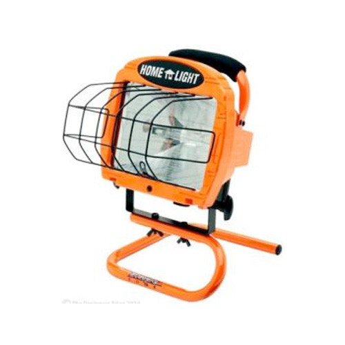 Coleman Cable L33 Portable Hand Held Worklight with Switch and 3' Cord