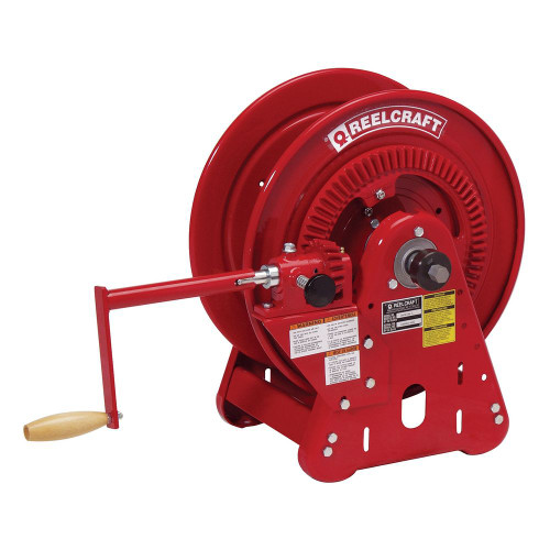 BA36112 L – 1/4 in. x 250 ft. Heavy Duty Bevel Crank Welding Hose Reel