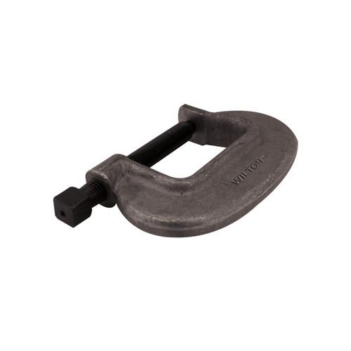 drop forged c-clamp with 1-1//2 in 2 in throat depth