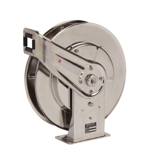 7600 OMS55 – 3/8 in. x 66 ft. Stainless Steel Hose Reel