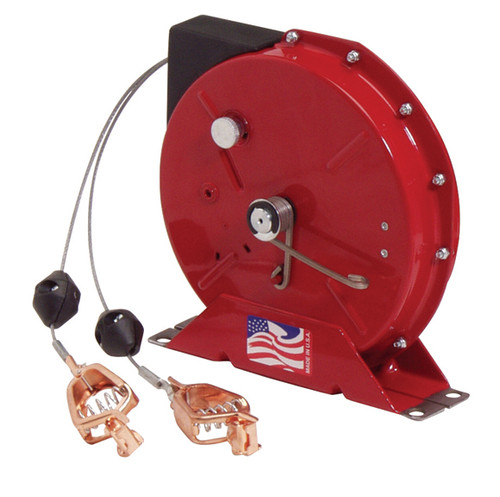 G 3050 Y – Heavy Duty Spring Retractable Grounding Reel