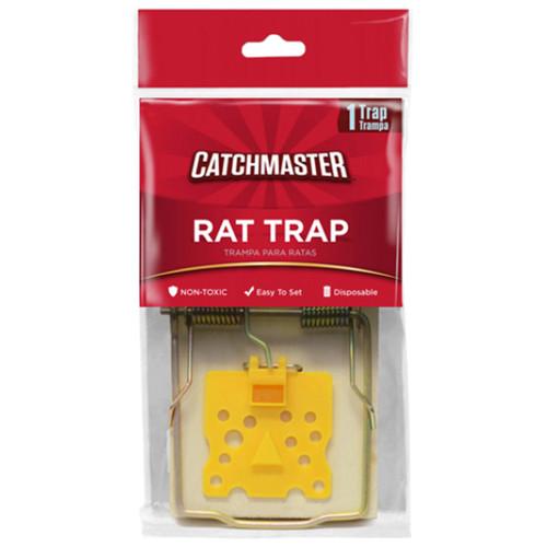 Catchmaster 610 Rat Snap Trap With Regular Trigger - 1PK