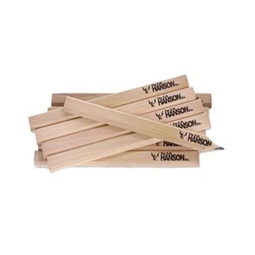 CH Hanson 10378 Hard Lead Carpenter Pencils