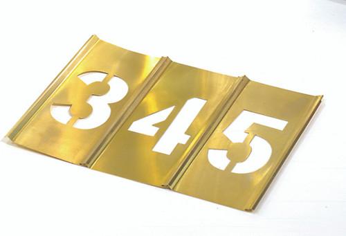 "CH Hanson 10006 1/2"" Numbers Stencil Set 15 pc"