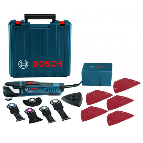 BOSCH GOP40-30C 32pc. StarlockPlus Oscillating Multi-Tool Kit