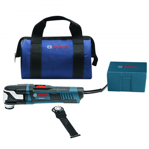 BOSCH GOP55-36B 2pc. StarlockMax Oscillating Multi-Tool Kit