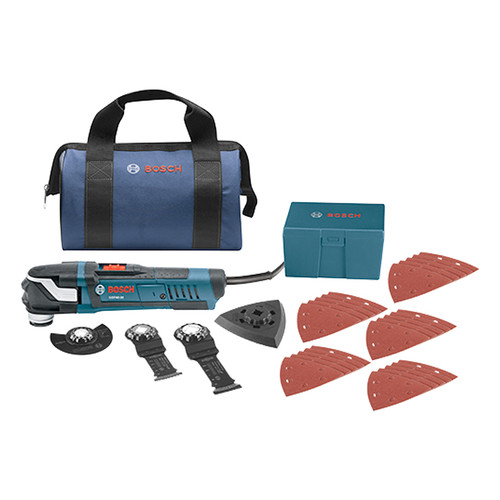 BOSCH GOP40-30B 30pc. StarlockPlus Oscillating Multi-Tool Kit