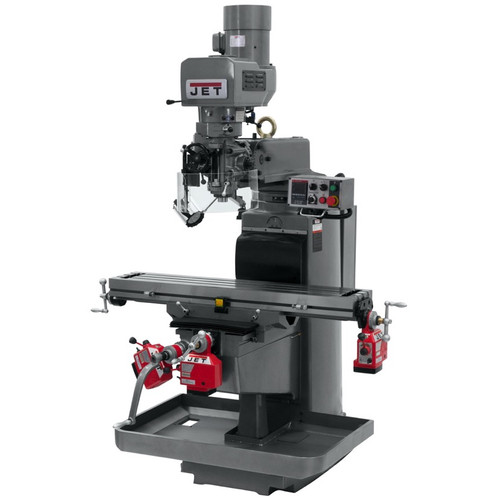 JET 690604 JTM-1050EVS2/230 Mill With X, Y and Z-Axis Powerfeeds