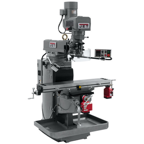 JET 690603 JTM-1050EVS2/230 Mill With x and Y-Axis Powerfeeds