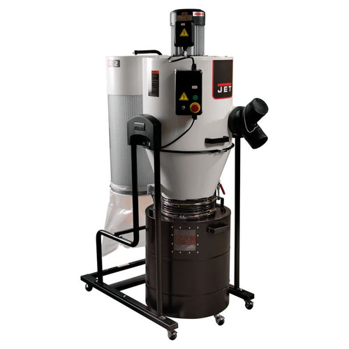 JET 717520 JCDC-2 Cyclone Dust Collector, 2HP, 230V