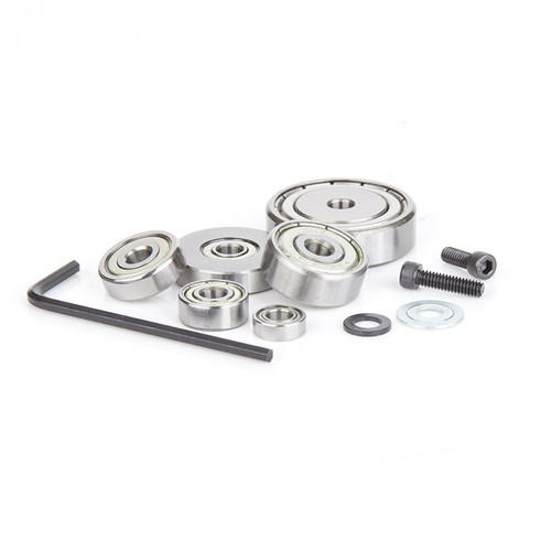 Amana 6000 Complete Replacement Kit for Multi-Rabbet w/ Ball Bearing Guide 1/8 , 1/4 , 5/16 , 3/8 , 7/16 and 1/2