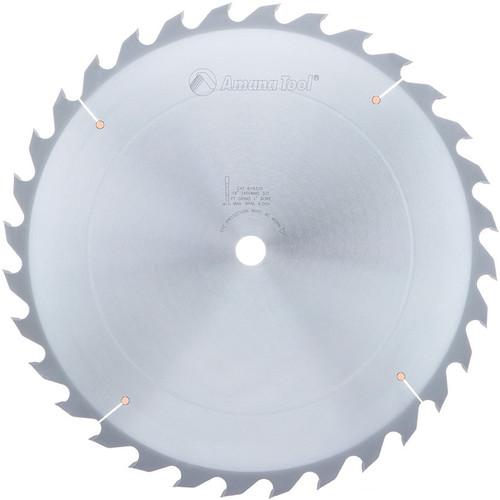 "Amana 618320 Carbide Tipped Ripping Standard 18"" D x 32T FT, 18 Deg, 1"" Bore, Circular Saw Blade"