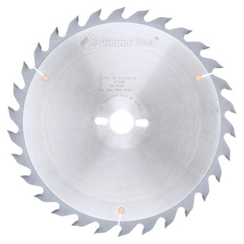 "Amana 612300-30 Carbide Tipped Ripping Standard 12"" D x 30T FT, 20 Deg, 30mm Bore, Circular Saw Blade"