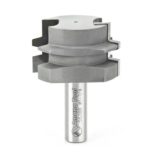 "Amana 55388 Carbide Tipped Glue Joint 1-3/32 D x 1/2 CH x 1/2"" Shank Router Bit"