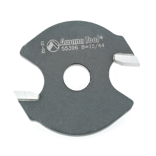 Amana 55396 Individual Straight Cutter for Finger Joint Router Bit