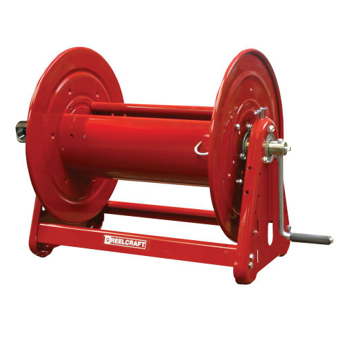 CB37128 L – 1 in. x 150 ft. Heavy Duty Hand Crank Hose Reel