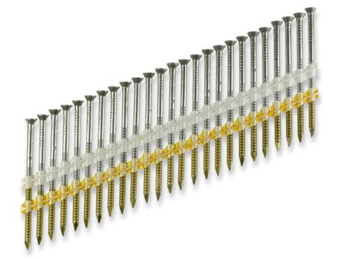 "Simpson Strong-Tie S10A325KDJ 12D 3-1/4"" 10Ga 304SS 22° Casing Head Nail 1000ct"