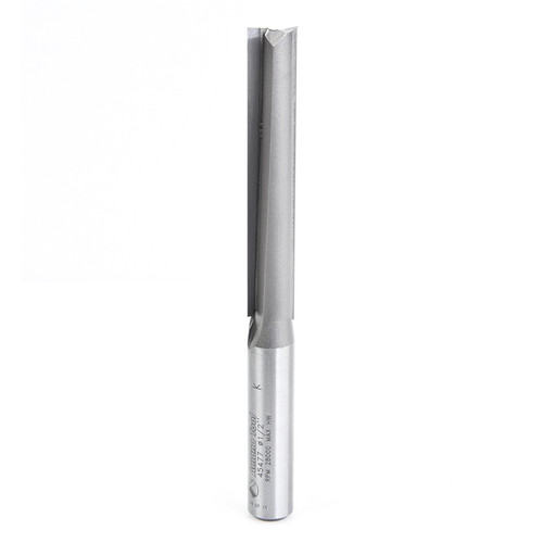 "Amana 45477 Carbide Tipped Straight Plunge High Production 1/2 D x 3 CH x 1/2 Shank x 5-1/4"" Router Bit"