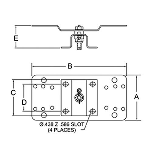 S600608 – 340° Pivot Base
