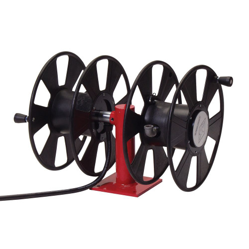 T-2462-0 – Dual Side-by-Side 250 Amp Cable Welding Reel
