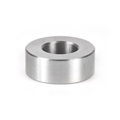 Amana 67221 High Precision Steel Spacer (Sleeve Bushings) 1 Dx 3/8 Height for 1/2 Spindle Shaper Cutters