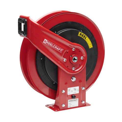 "Reelcraft RS7400-OHP - 1/4"" x 50 ft. REELSAFE Hose Reel for Grease without Hose"