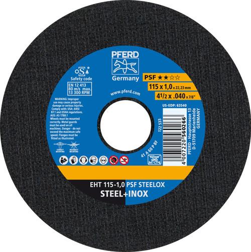 5 x .040 x 7//8-Inch Cut-Off Wheel 50pk Stainless Steel /& Metal Discs