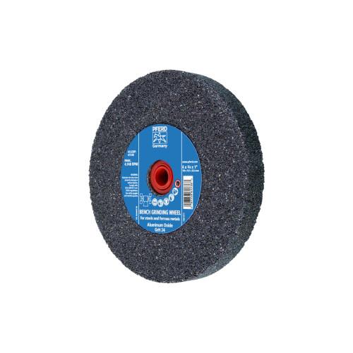 "24 Grit Aluminum Oxide PFERD 61738 6/"" x 3//4/"" Vitrified Bench Wheel 1/"" A.H."