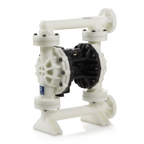 GRACO 654505 Husky 15120 PP Pump Center Flange PP Center Section PP Seats PTFE Balls & PO Diaphragm