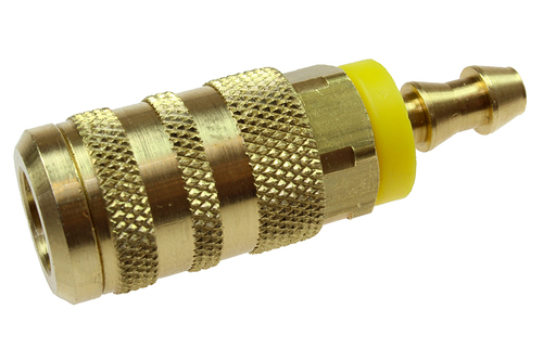 "Coilhose Pneumatics 15X4L 1/4"" 6-Ball Industrial Coupler, 1/4 ID Lock-on"