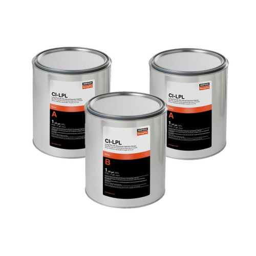 Simpson Strong-Tie CILPL3KT CI-LV Long Pot Life Epoxy 3-Gallon Bulk Kit