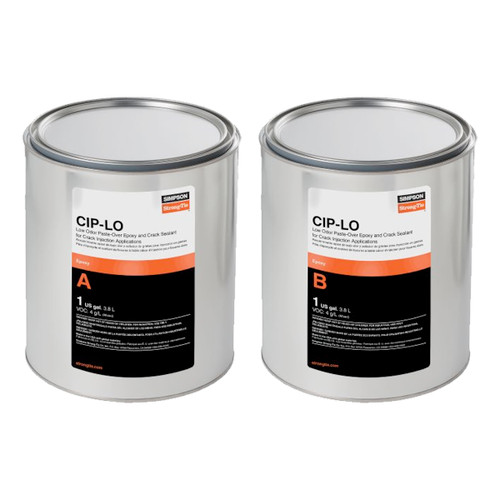 Simpson Strong-Tie CIPLO2KT CIPLO Low-Odor Paste-Over & Crack Sealant 2-gal. kit