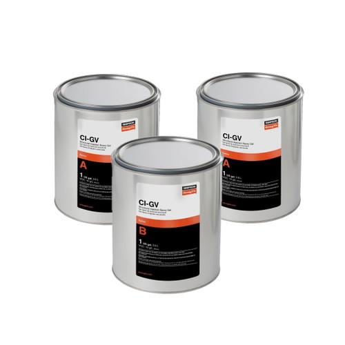 Simpson Strong-Tie CIGV3KT CI-GV Gel-Viscosity Epoxy 3-Gallon Bulk Kit