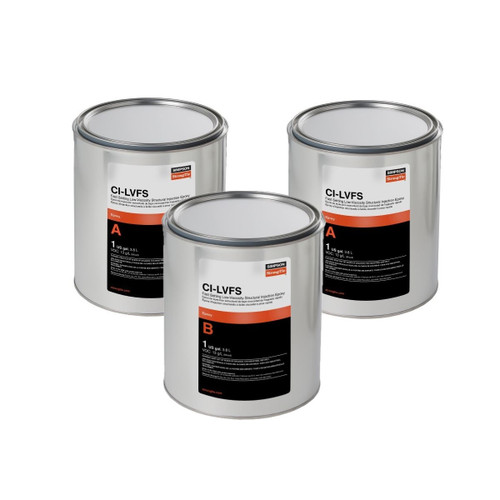 Simpson Strong-Tie CILVFS3KT CI-LV FS Low-Viscosity 3-gallon Bulk Kit