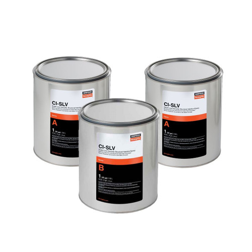 Simpson Strong-Tie CISLV3KT CI-SLV Super-Low Viscosity Epoxy 3-Gallon Bulk Kit