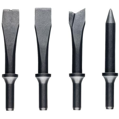 JET JSG-1304, 4-Piece Chisel Set for Riveting Hammers