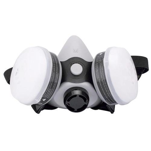 SAS Safety BreatheMate Half-Mask Dual Cartridge Respirator Kit - Medium