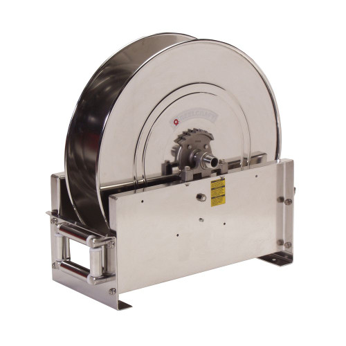 """Reelcraft D9300 OLSBW-S - 3/4"""" x 75 ft. Stainless Steel Hose Reel"""