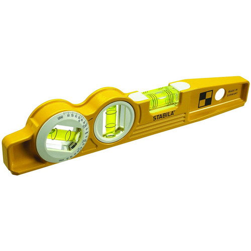 "STABILA 25360 Type 81SMW360 10"" Die Cast Magnetic Torpedo Level"