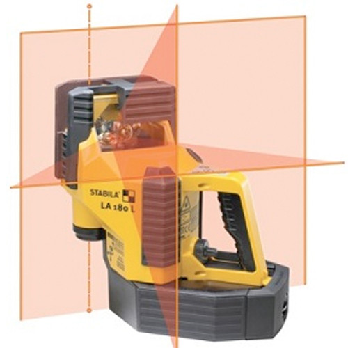 STABILA 02180 LA180L Layout Laser Kit with Automatic Alignment