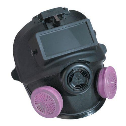 Honeywell 54001W 5400 Series Low Maintenance Full Facepiece Respirators, Small w/ Welding Attachmt