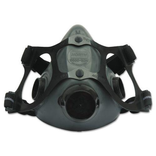 Honeywell 550030L 5500 Series Low Maintenance Half Mask Respirator, Large