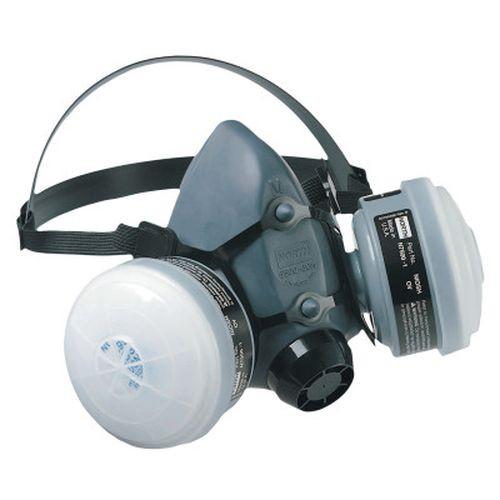 Honeywell 5501N95L 5500 Series Low Maintenance Half Mask Respirators, Large, OV/N95 Cartridges