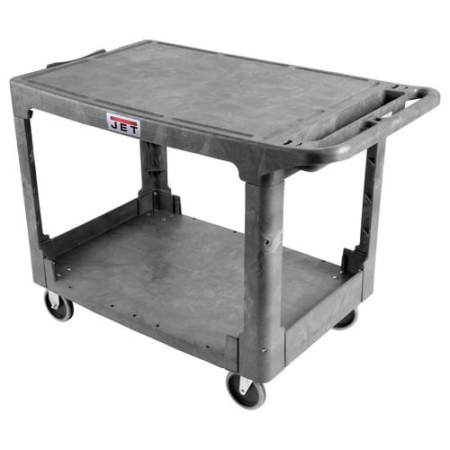 JET 141017 PUC-4425 Flat Top Resin Utility Cart