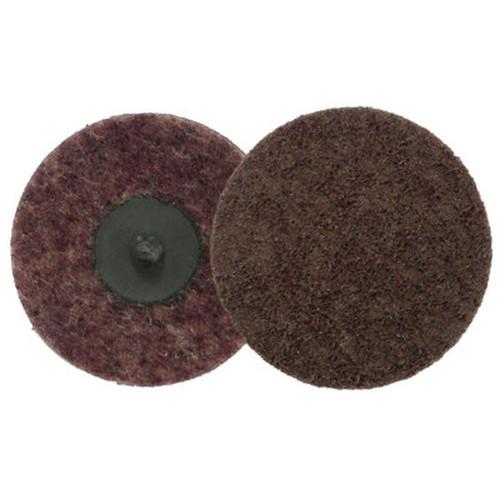 "WEILER 51534 Surface Conditioning Disc, 3"" Dia., Medium Grit, Aluminum Oxide"